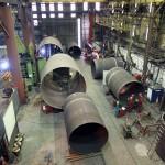 Steel Fabrication - Large Diameter Rollings