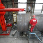 Steel Welding - 7M x 7M Column & Boom / Sub Arc Welding